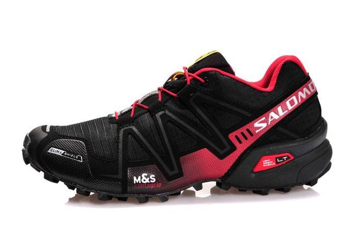 Salomon Speedcross 3 CS Mens Waterproof Running Shoes Black