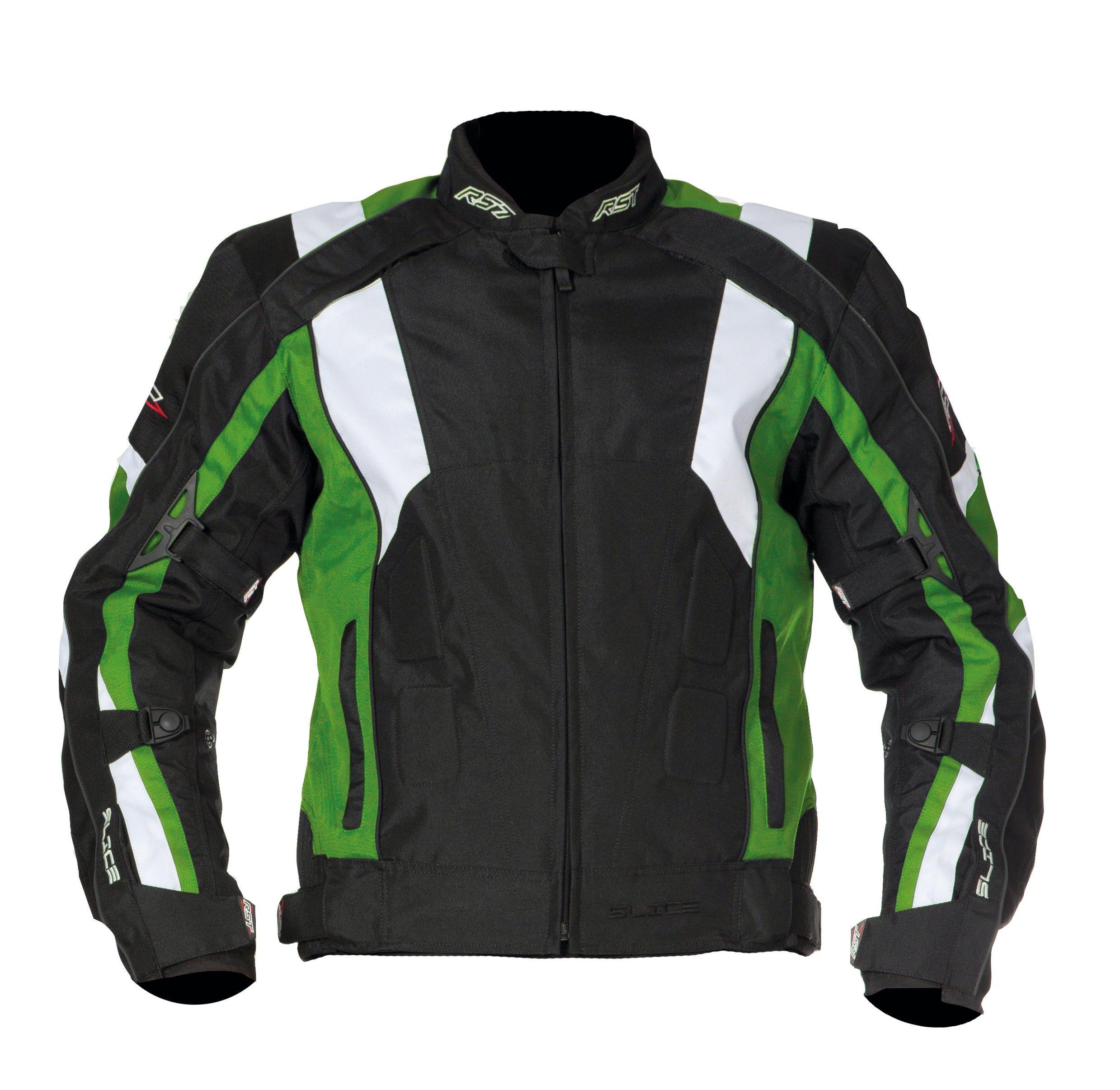 RST Slice Sport Textile Jacket Green Green jacket