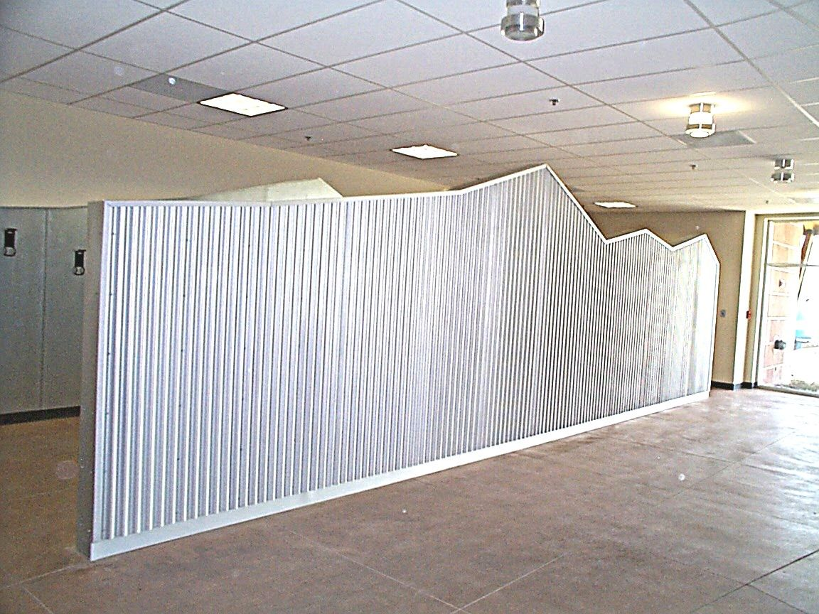 Exceptionnel Corrugated Sheet Metal Walls