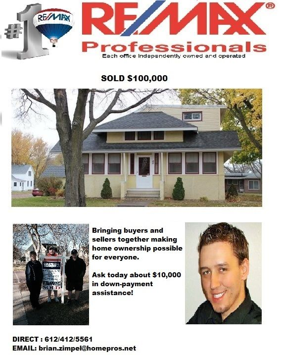Brian Zimpel Remax Minnesota Remax Agents Minnesota Real Estate Houses Cottage Grove Real Estate Rent