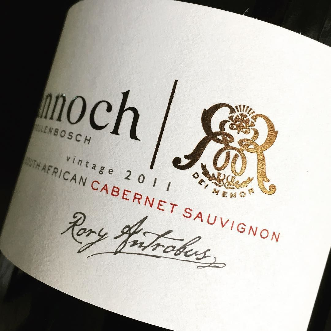 Private Winelabel For Rannoch Farm In Stellenbosch Haumannsmal Labeldesign Winelabeldesign Bronze Instagram Posts Wine Bottle Bottle