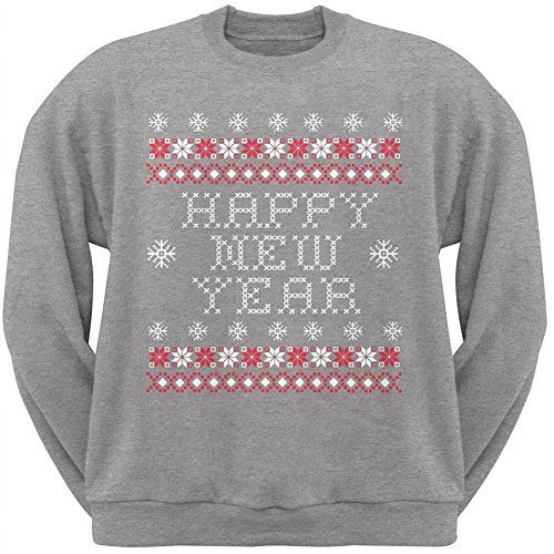 Happy New Year Ugly Christmas Sweaters Ugly Sweaters By City