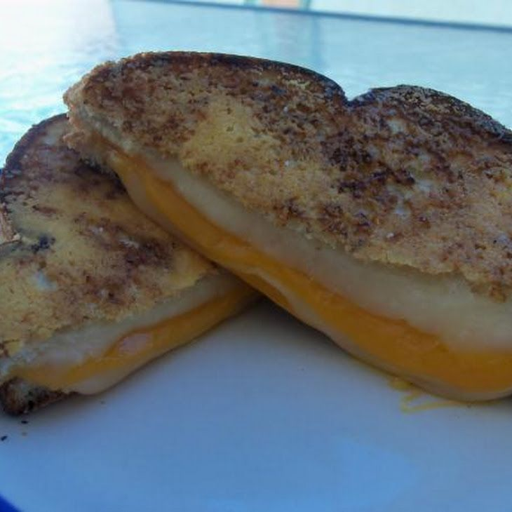 Parmesan-Crusted Grilled Cheese Sandwich Recipe
