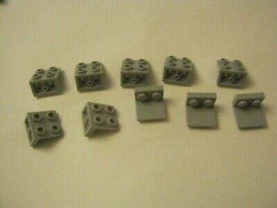LEGO Lot of 4 Green 1x2-2x2 Space Brackets