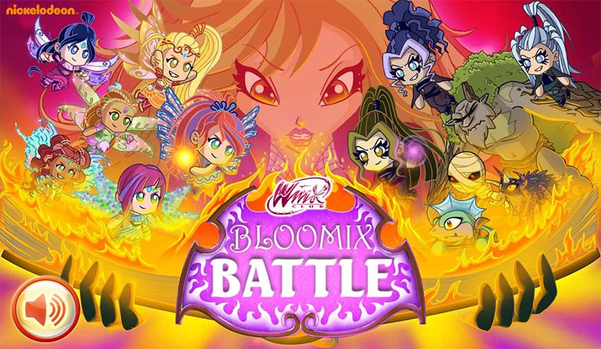 Nuevo juego Winx Club Bloomix Battle de Nick http