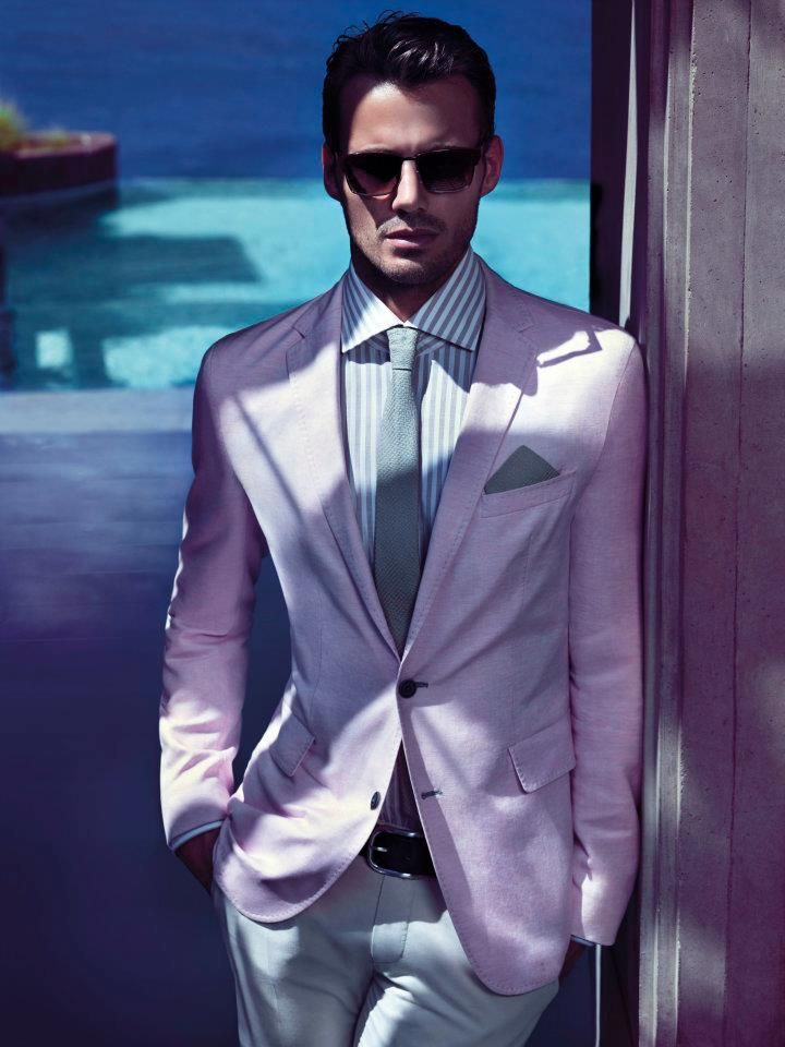 That pink blazer is the cutest! XD Hugo Boss Black Summer 2012 ...