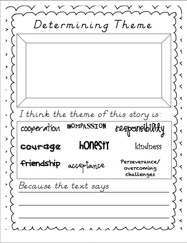 Miss Stith's Second Grade: Determining Theme in Literature ...