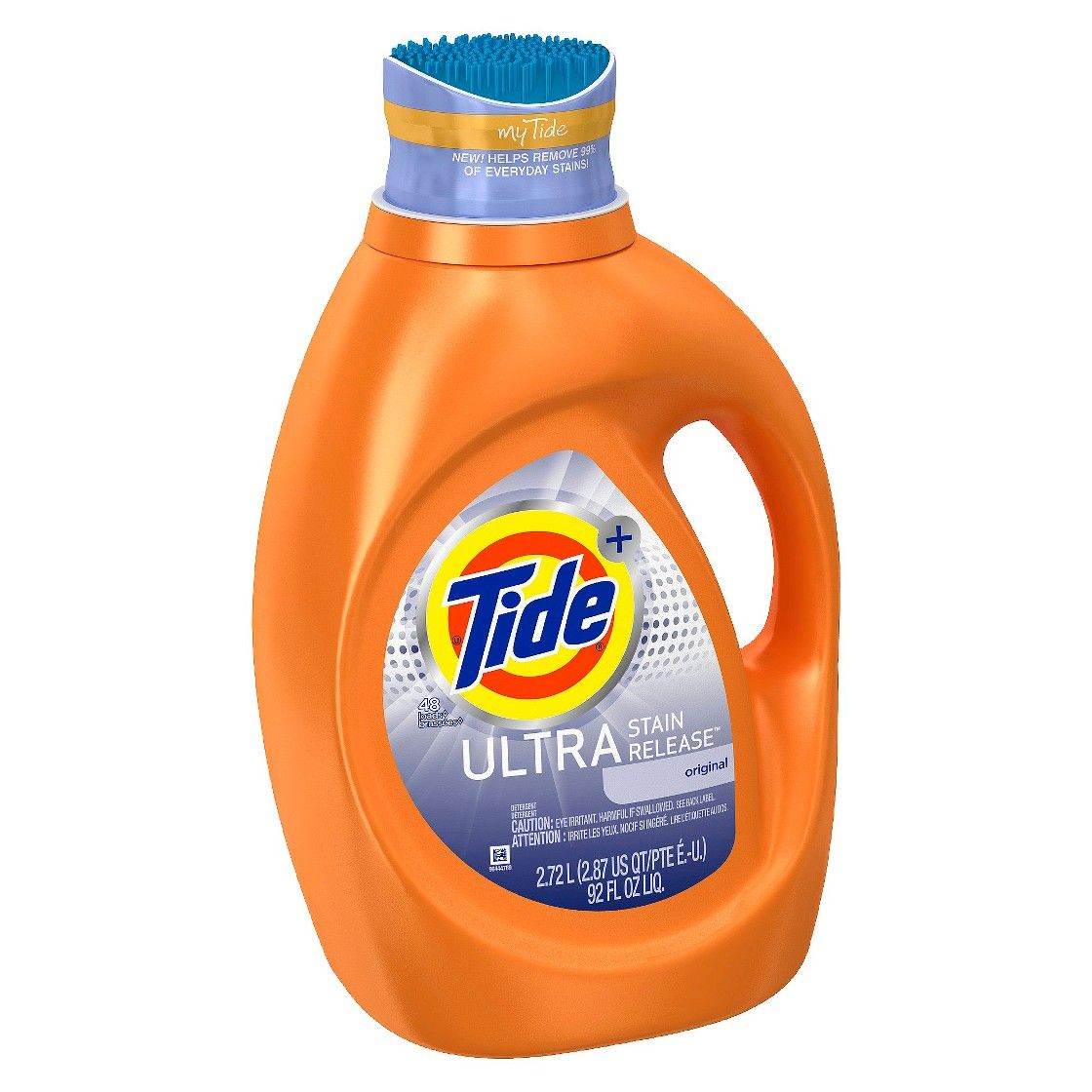 Tide Ultra Stain Release Liquid Laundry Detergent 92 Oz