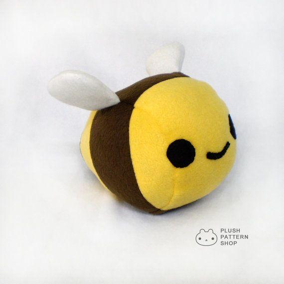 Bee Sewing Pattern Bee Plush Sewing Pattern Plush Bumble Bee