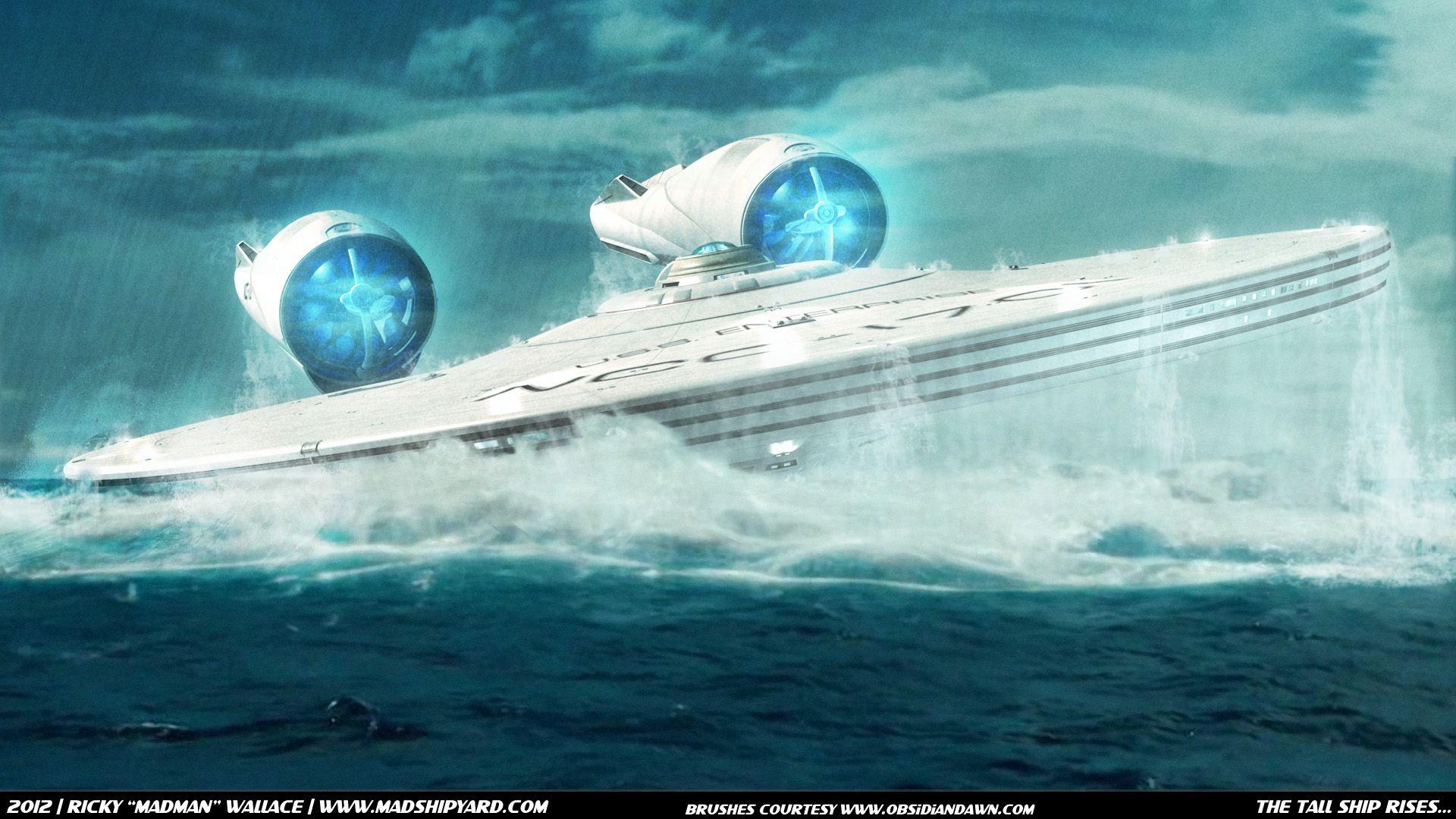 Star Trek Into Darkness Enterprise Underwater Wallpaper Photo