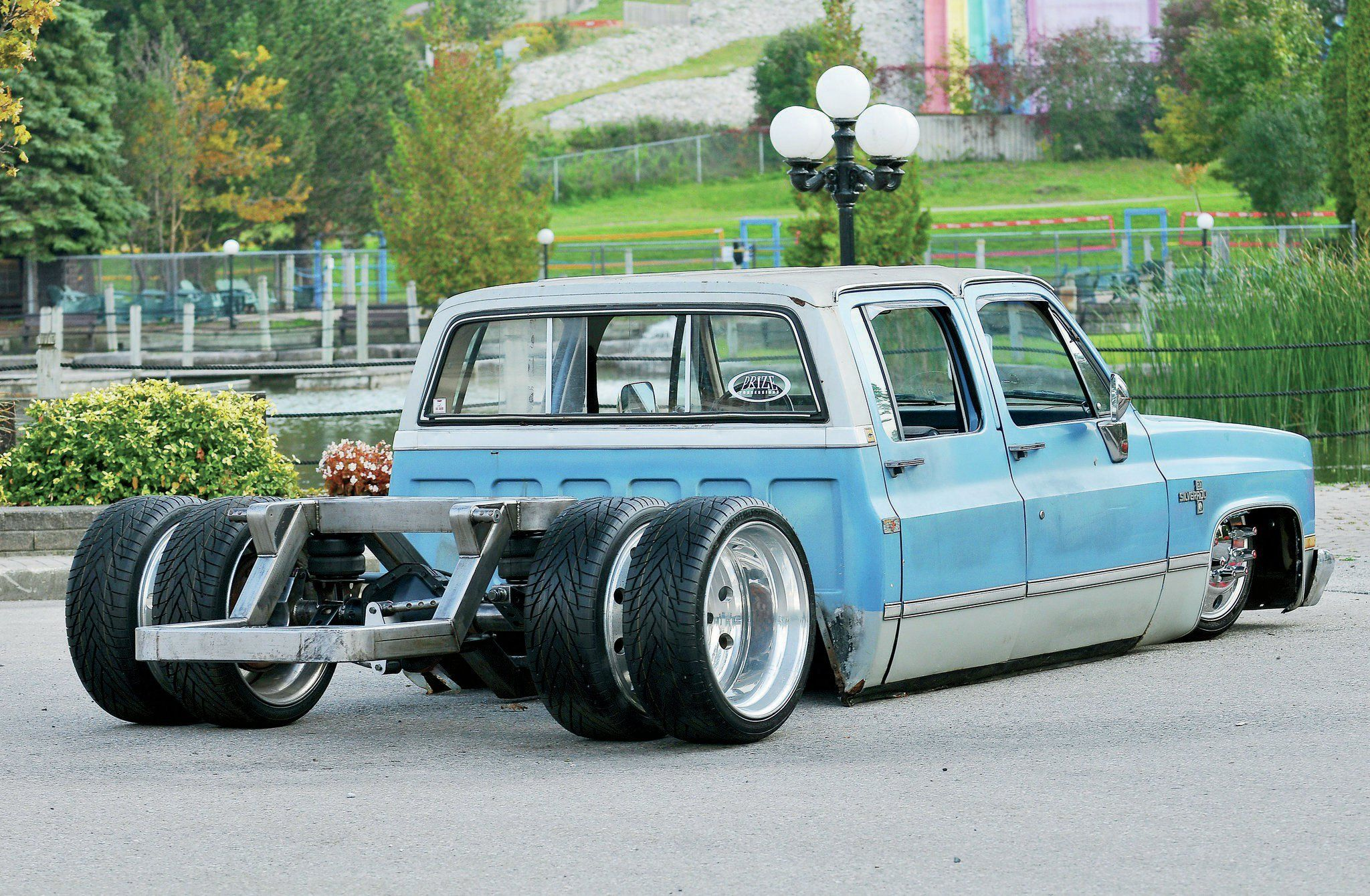 1985 Chevy Crew Cab Under Construcrion Dually Dream