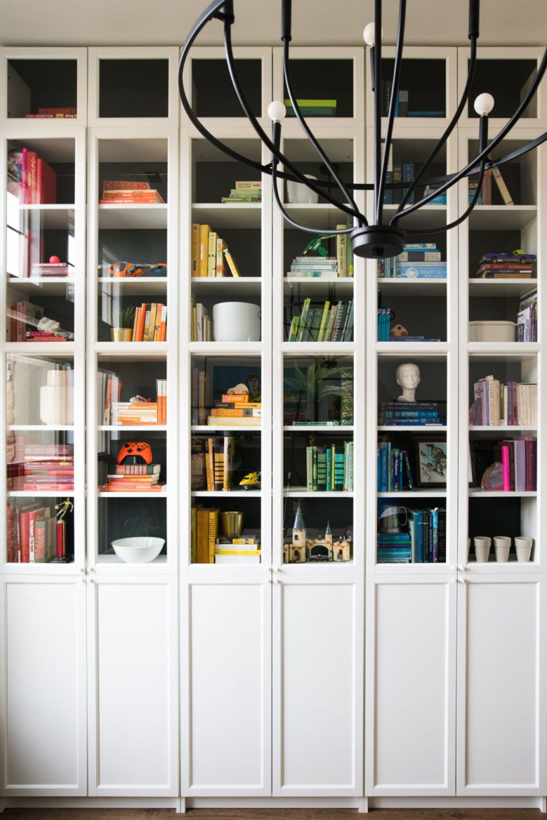 Floor To Ceiling Built In Bookcases The ULTIMATE IKEA