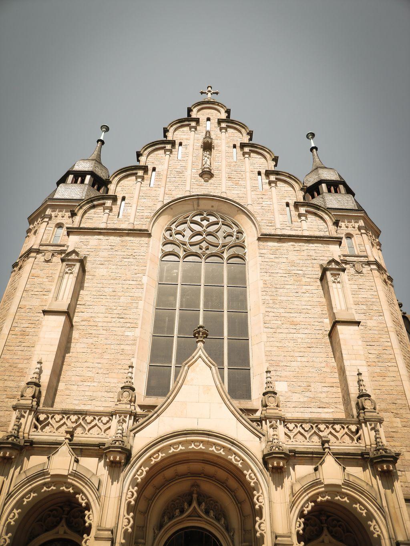St Joseph Kirche In Speyer Haupteingang Speyer Eingang Kirchen