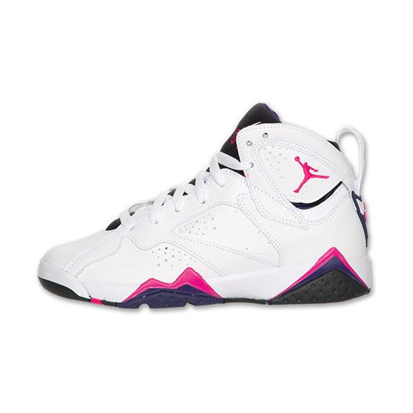 Air Jordan Retro 7 Kids  Basketball Shoes ( 150) ❤ liked on Polyvore  featuring shoes f7a48c3fc343