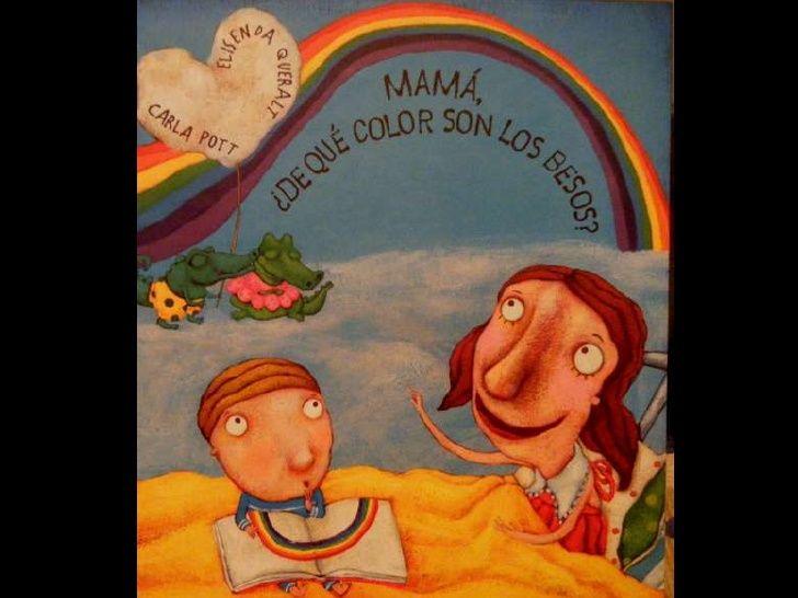Mamá De Qué Color Son Los Besos Color Sons Painting