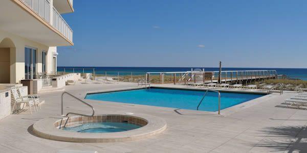 Pool At Belle Mer Inium In Navarre Beach Fl Navarrebeach Emeraldcoast