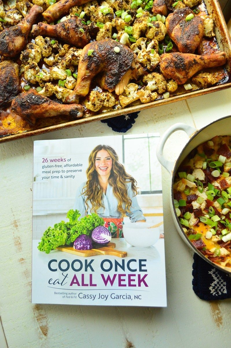Loaded Cauliflower Casserole: Cook Once Eat All Week Review | Real Food with Dana | Cooking ...