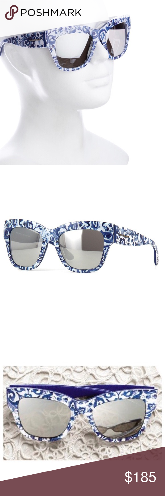 9b222eedac6f BNIB Dolce Gabbana s 4231 Maiolica Sunglasses NWT. SALE✨BNIB  Dolce Gabbana s 4231 Maiolica Sunglasses Dolce   Gabbana s DG4231 - ALMOND  FLOWERS ...