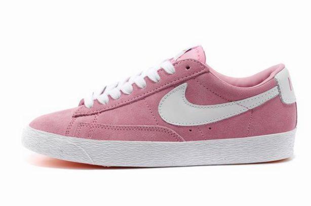 Nike blazer basses rose pastel