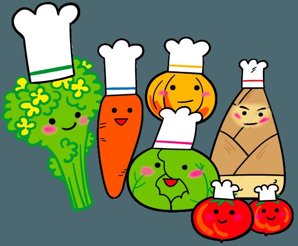七夕 野菜 イラスト