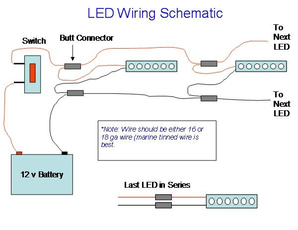 home u003e forums u003e bowfishing u003e how to wire led lights bow fishing rh pinterest com led boat wiring kit wiring led boat lights