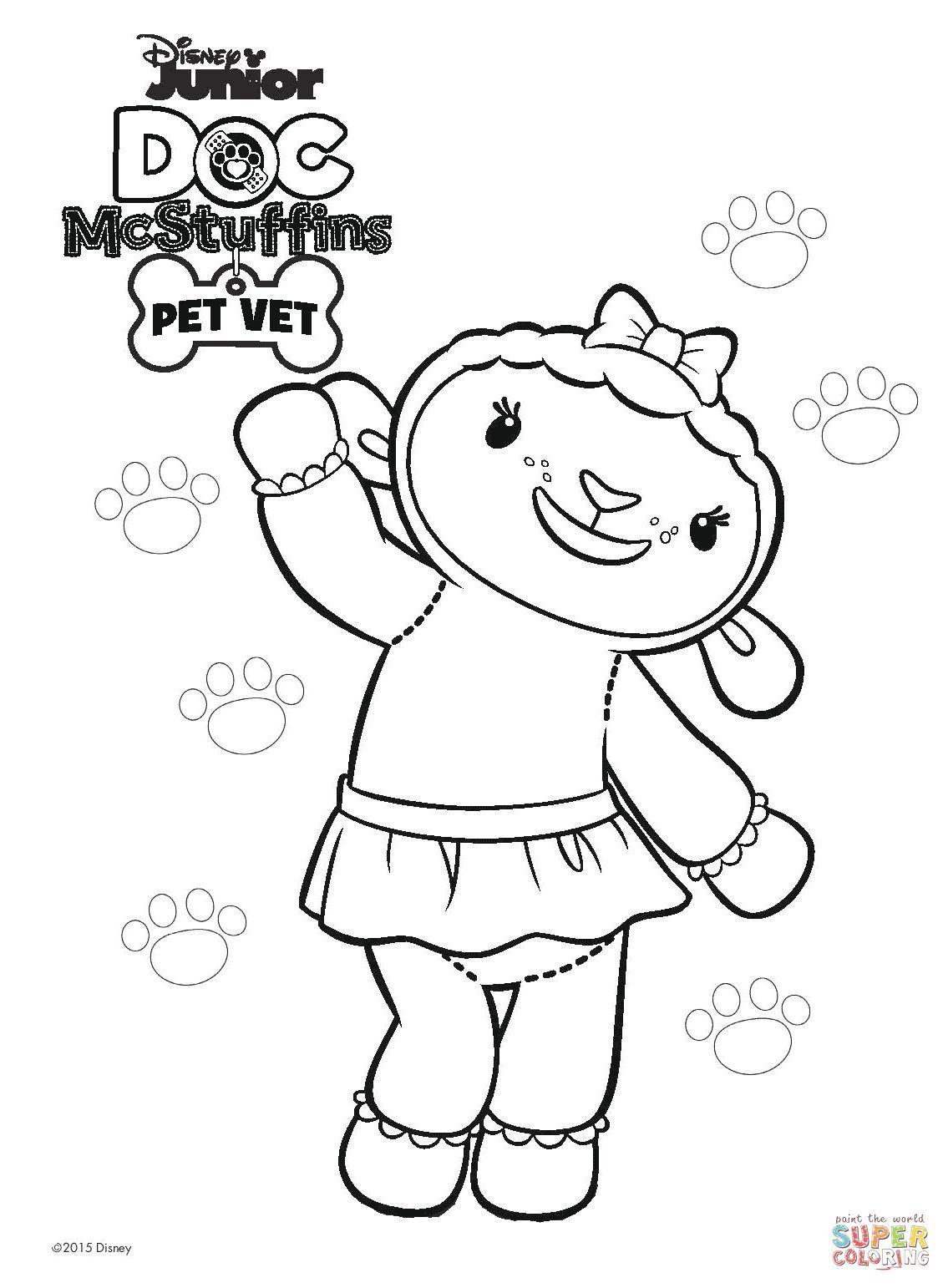 Doc-Mcstuffins-Coloring-Pages (50).jpg (1135×1542) | Coloring ...