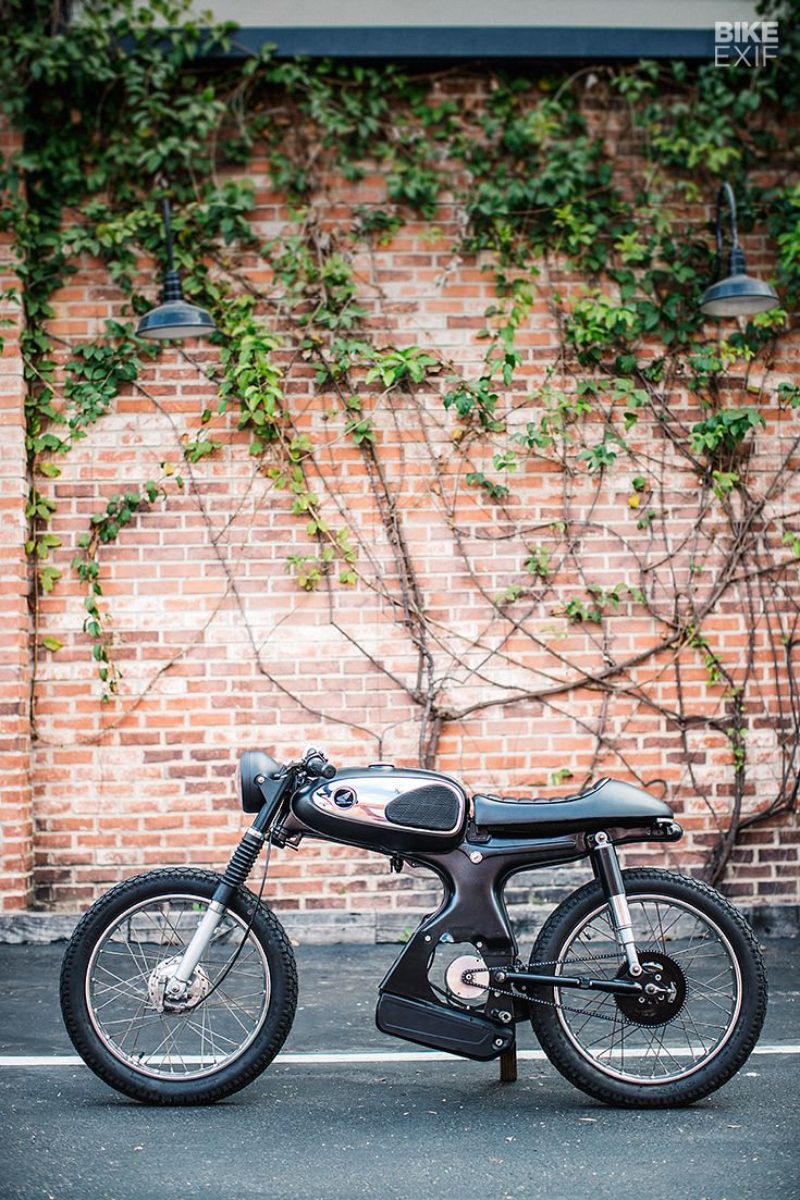 The 929 Moped That Won A Global Custom Build Off Moped Electric Mountain Bike Electric Moped