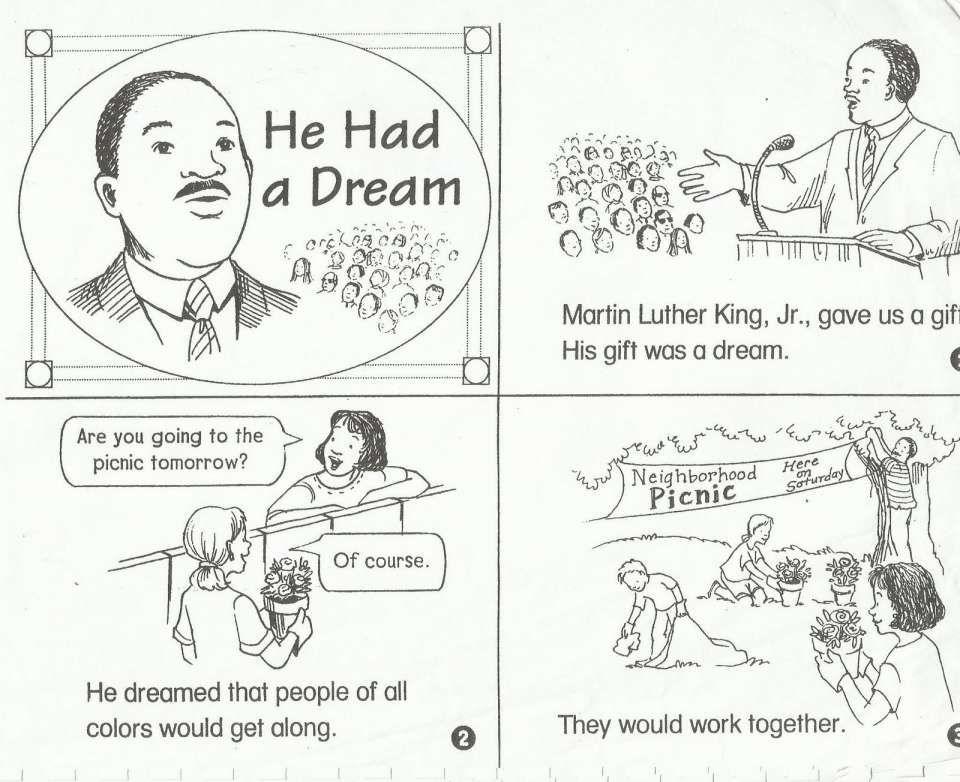 10+ Martin Luther King Worksheet For Kindergarten