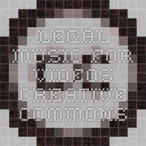 Ókeypis tónlistarveitur Legal Music For Videos - Creative Commons
