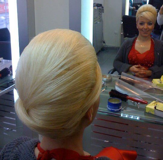 Teased Blonde Bouffant Hairdos Hair Styles Cute Updo