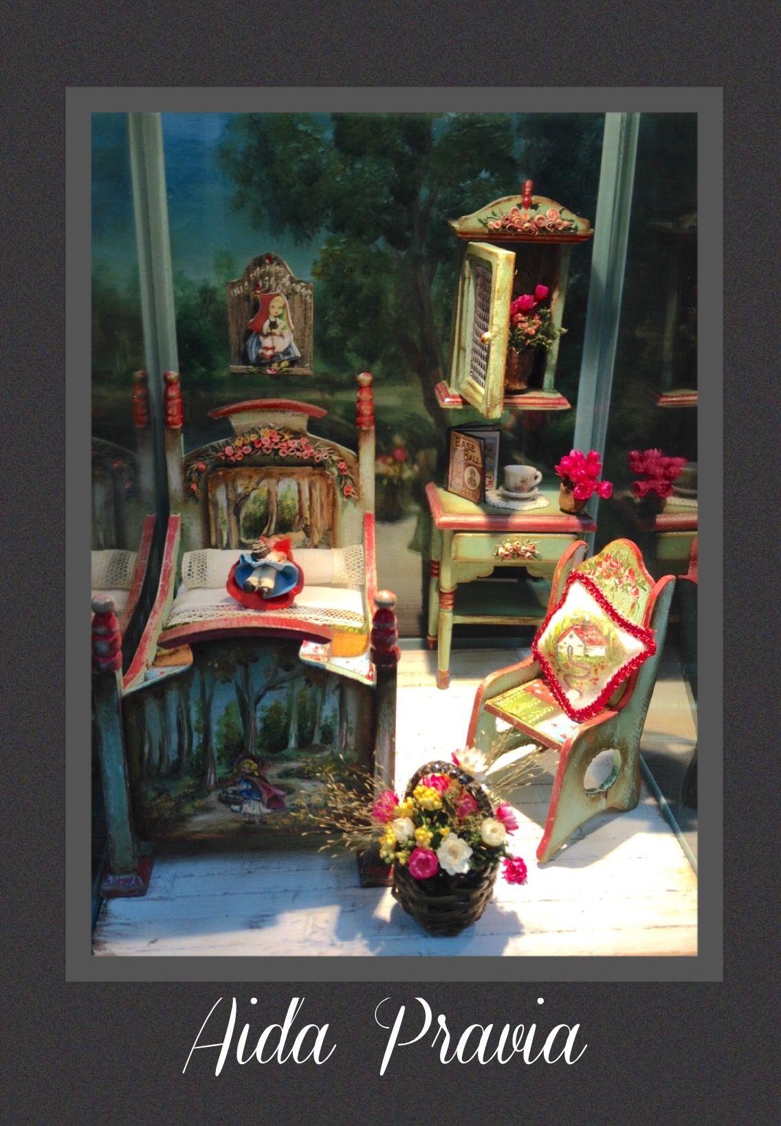 Dollhouse 1 12 By Aida Pravia Las Miniaturas De Aida Pravia  # Muebles Cuento De Hadas