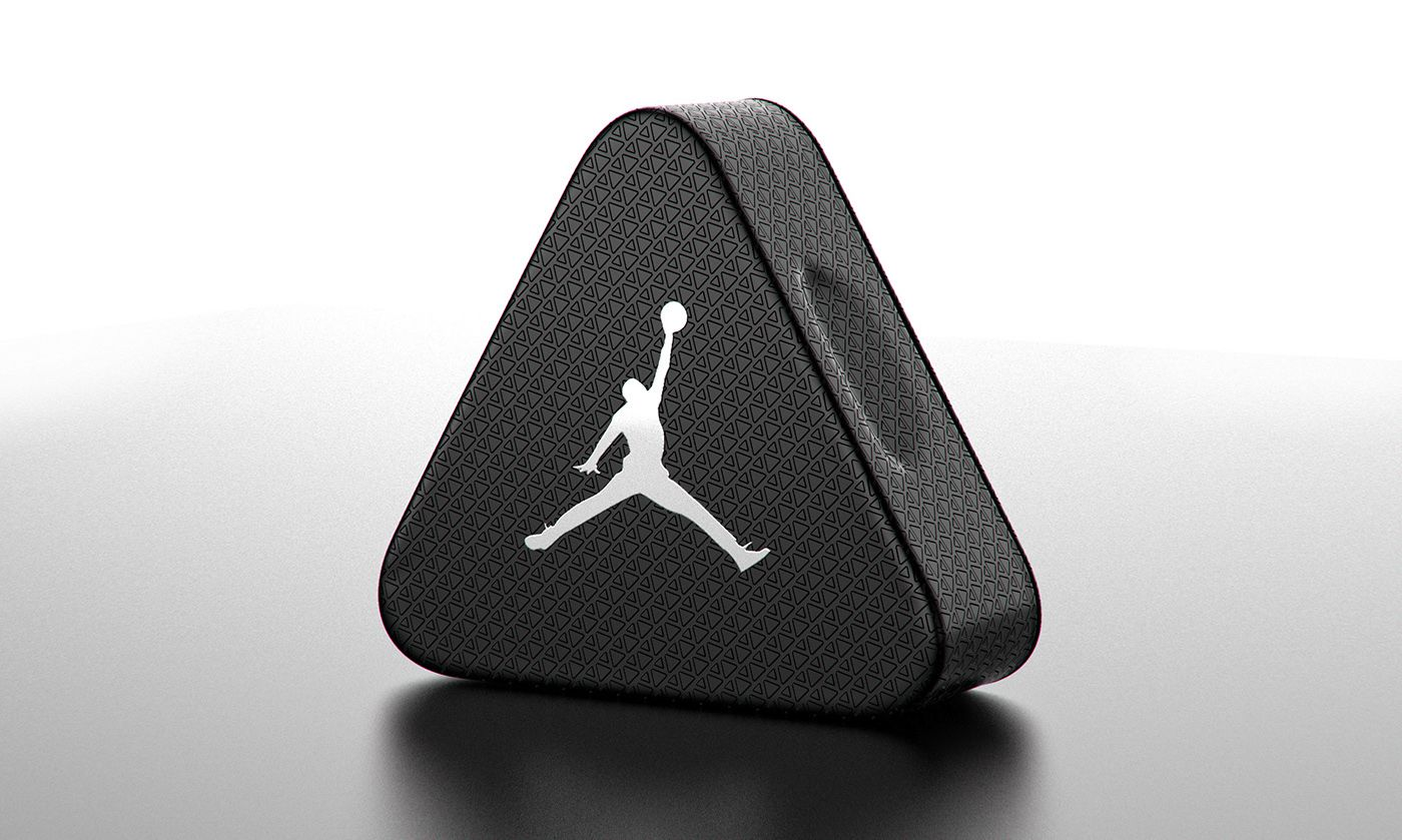 Air Jordan Triangle Aluminum Shoebox (Concept) on Packaging of the World -  Creative Package Design Gallery 275f4b613d