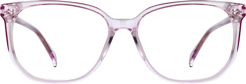 Pink Square Glasses 662919 Zenni Optical Eyeglasses In 2020