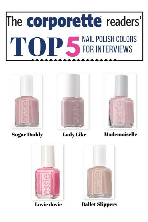 Nail Colors for Work: What\'s Appropriate, What\'s Not... | Pinterest ...