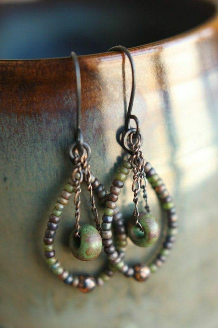 Ohrringe selber machen ideen und tipps ohrringe earrings pinterest ohrringe selber - Schmuck selber machen ideen ...