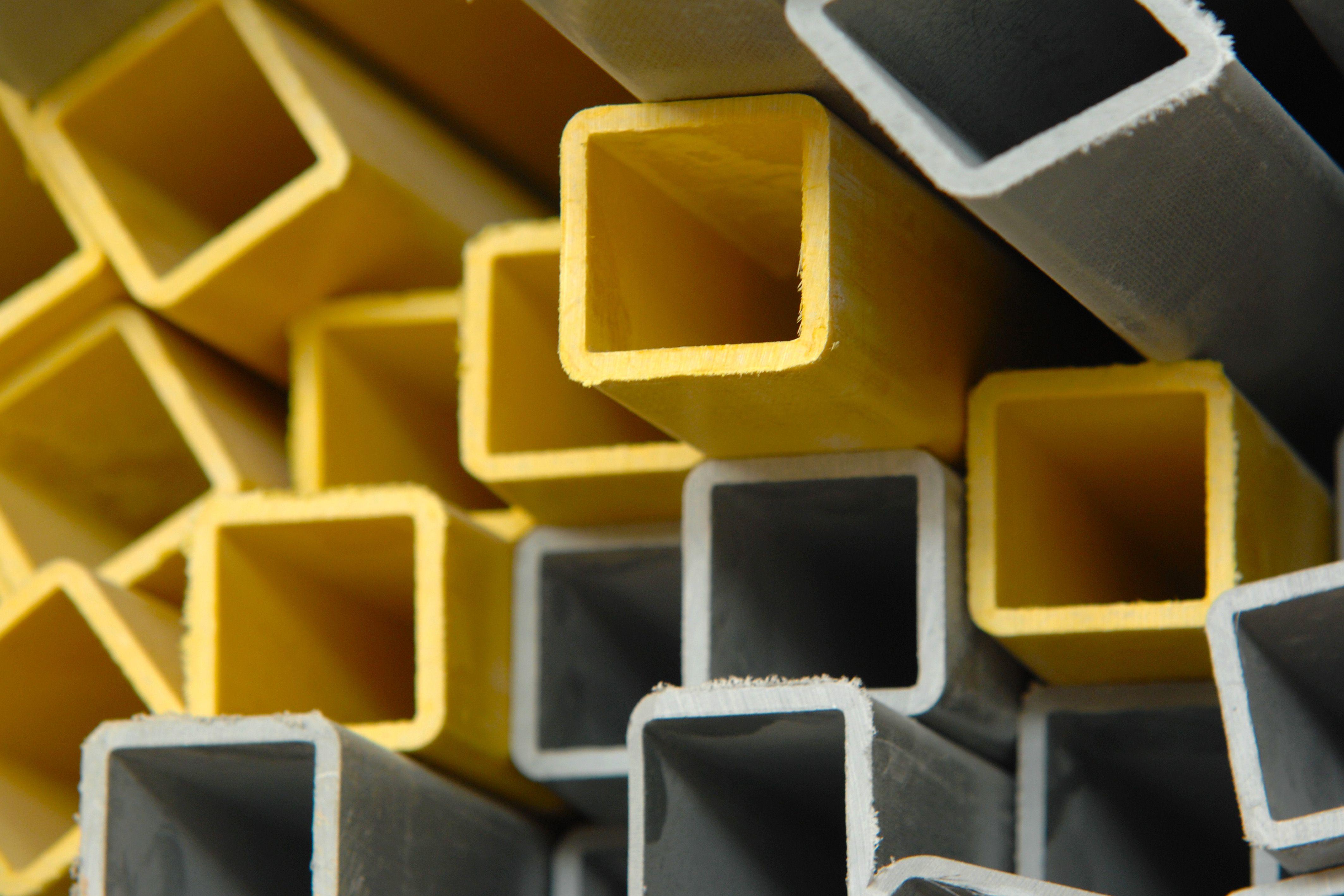 profilés carrés en matériaux composites Triglass®