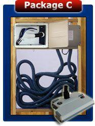 Doc It Central Vacuum Retractable Hose Management System Central