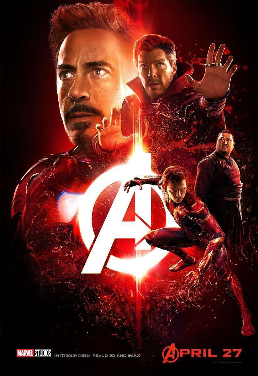 Releases 5 New Avengers Infinity War Posters Marvel Carteles