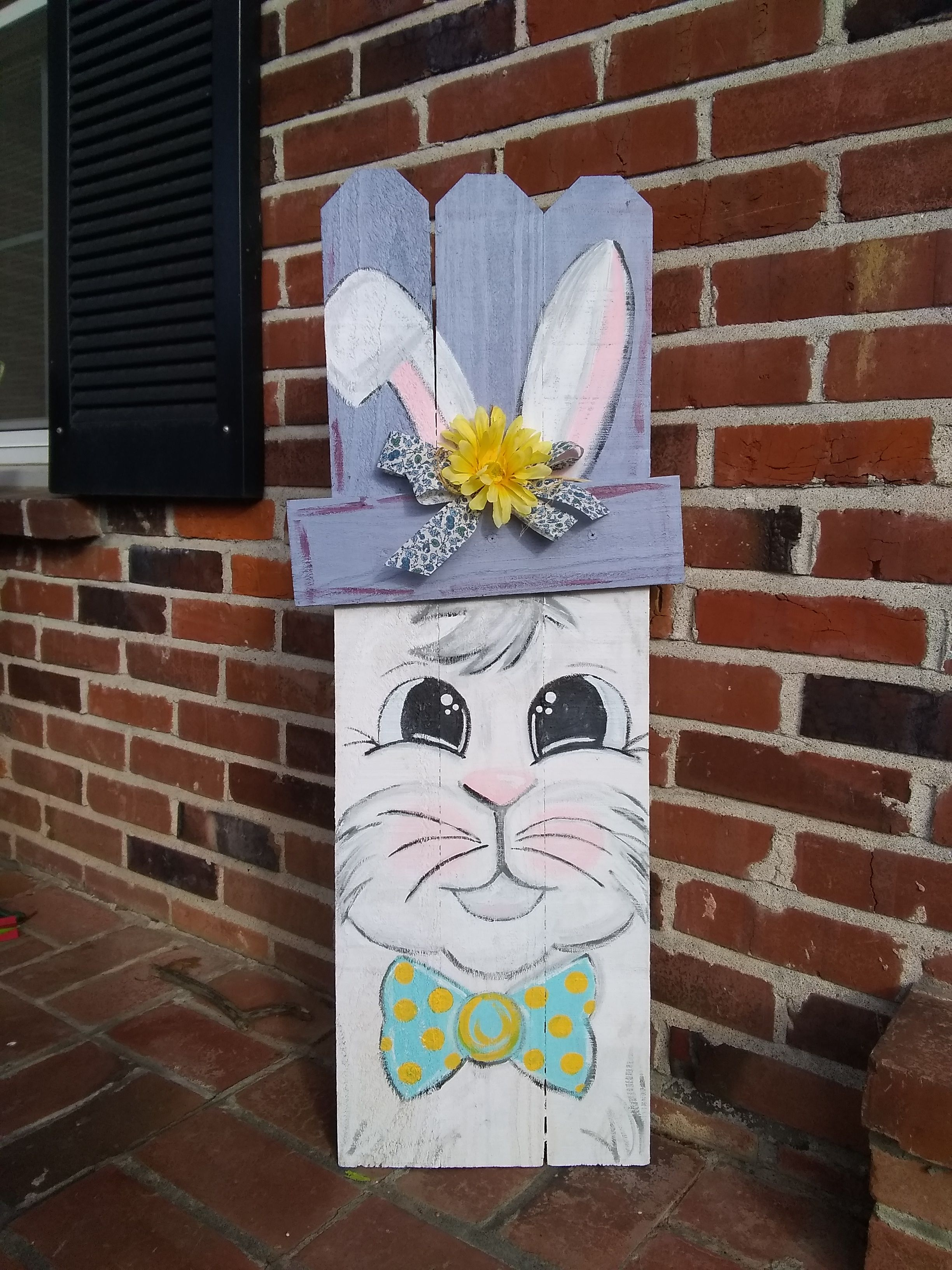 Easter Porch Decor Bunny Option For Our Reversible Signs Easter Porch Decor Easter Sign Bunny Wood Bunny Easter Easter Porch Decor Easter Signs Easter Diy