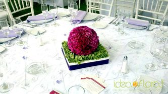 Centros De Mesa Flores Boda Puebla Idea Floral Bodas