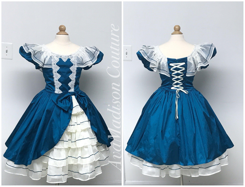 Avaclarise Corset Back Dress Ruffles Puff Sleeves Ribbon Etsy Wonderful Dress Dresses Victorian Dress [ 2297 x 3000 Pixel ]