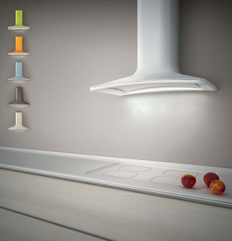 The Elica Dolce cooker hood - going in our contemporary grey and ...
