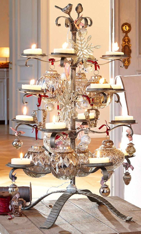 loberon deko baum 2er set rosnay weihnachtstr ume. Black Bedroom Furniture Sets. Home Design Ideas