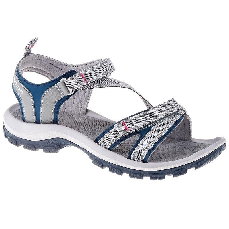 976329b7c68 84,99 TL - Kadın Doğa Yürüyüşü Sandaletleri - ARPENAZ 100 SANDALET - QUECHUA
