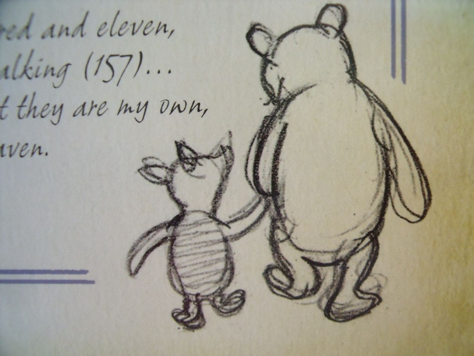 Winnie The Pooh And Piglet Quotes About Friendship Winnie The Pooh And Piglet Holding Hands Silhouette  Google