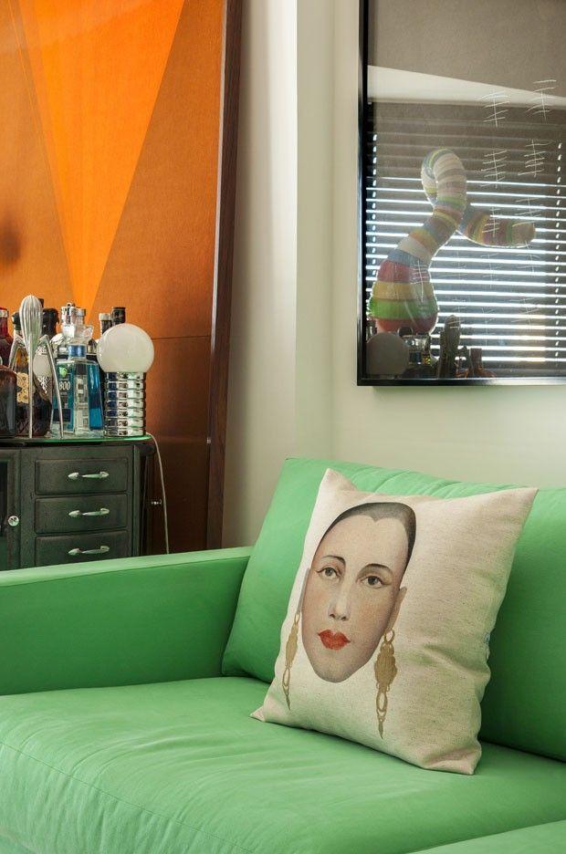 Apartamento Maximiliano Crovato (Foto: Romulo Fialdini/ divulgação)