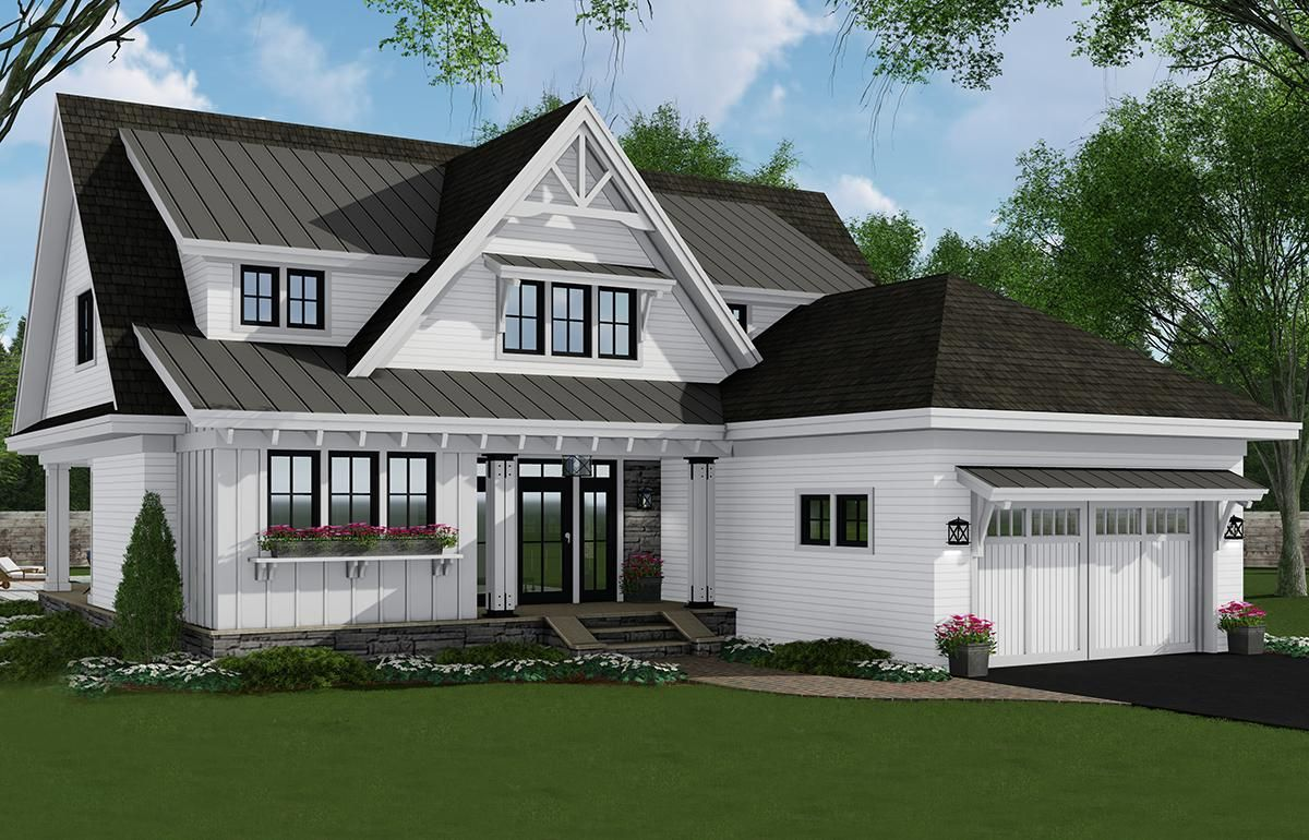 House Plan 09800315 Modern Farmhouse Plan 2,652 Square