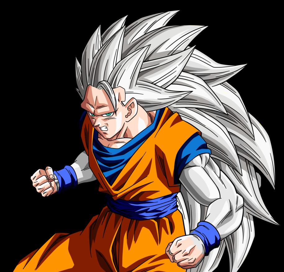 Goku SSJ5 | Goku ssj5 Base RENDER by lewildgoku