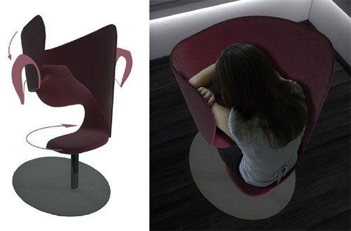 Elise legrand fauteuil sieste 15 20 min design sieste for Fauteuil de sieste