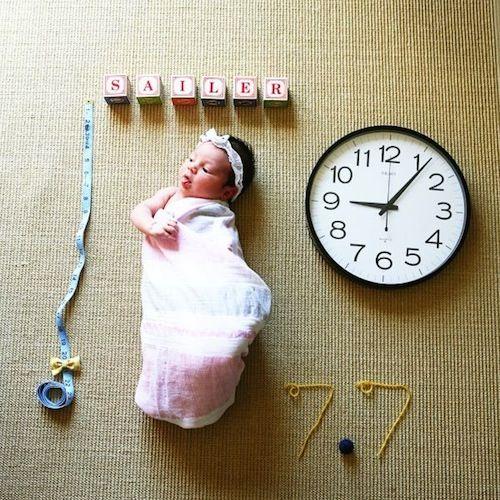 Фото новорожденных детей в месяц идеи